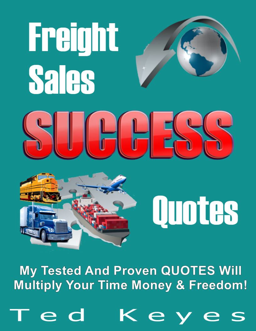 Freight Sales Success Quotes ECOVER