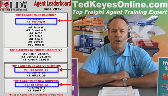 Freight Agent Training by Ted Keyes