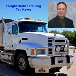 freight broker training by Ted Keyes