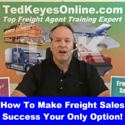 How To Make Freight Sales Success Your ONLY Option