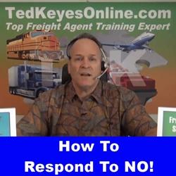 How To Respond To NO!