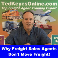 Why Freight Sales Agents Don't Move Freight