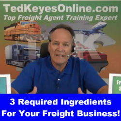 3 Required Ingredients For Your Freight Business!