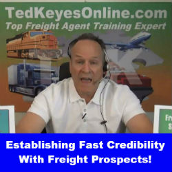Establishing Fast Credibility With Freight Prospects