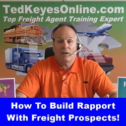 How To Build Rapport With Freight Prospects