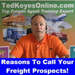 Reasons To Call Your Freight Prospects