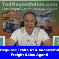 Required Traits Of A Successful Freight Sales Agent