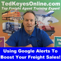 Using Google Alerts to Boost your Freight Sales