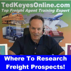 Where To Research Freight Prospects