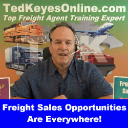 Freight Sales Opportunities Are Everywhere!