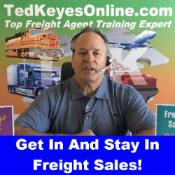 Get In And Stay In Freight Sales!