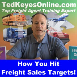 How You Hit Freight Sales Targets!