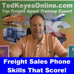 Freight Sales Phone Skills That Score!