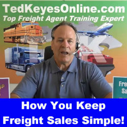 How You Keep Freight Sales Simple!